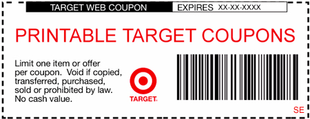 Target coupon limit one per guest