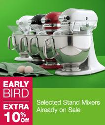 Kohl\'s: Kitchen Aid Mixer $94.38 After Rebate