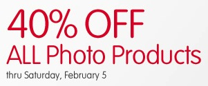 40% off All Photo Products at Walgreens Photo