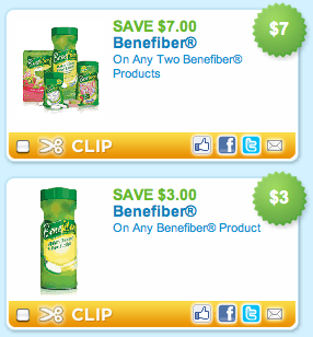 Benefiber Coupons