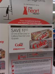Diet Coke Tearpad Coupon