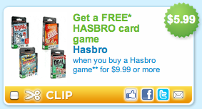 Hasbro Coupon