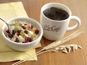 McDonalds Coffee Oatmeal