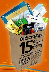 OfficeMax Bag Sale