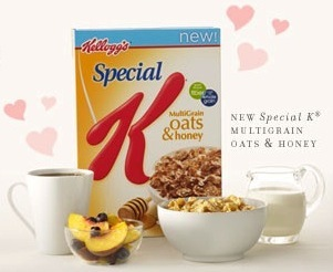 Special K Oats Honey