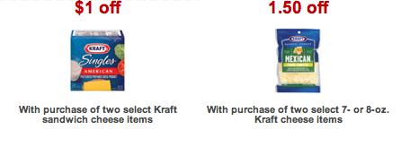 Target Kraft Cheese Coupons