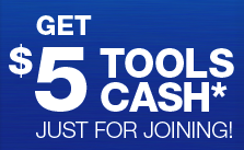 Craftsman 5 Tools Cash
