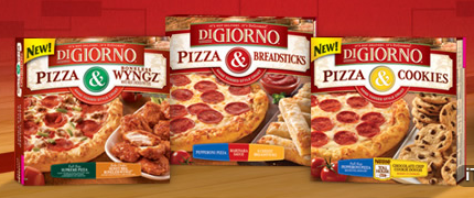 DiGiorno Pizza Wyngz Breadsticks Cookies