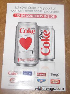 Diet Coke Coupon Booklet