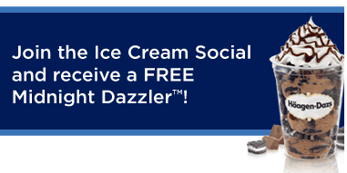Haagen Dazs FREE Midnight Dazzler