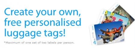 KLM FREE Luggage Tags