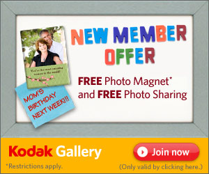 Kodak FREE Photo Magnet