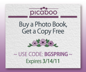 Picaboo BOGO Photo Books