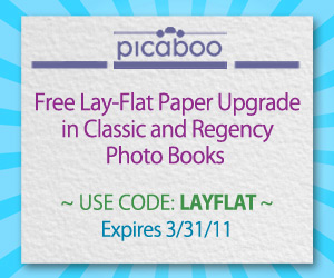 Picaboo FREE Lay Flat Paper Upgrade