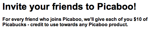 Picaboo Referral
