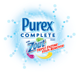 Purex Complete with Zout Logo