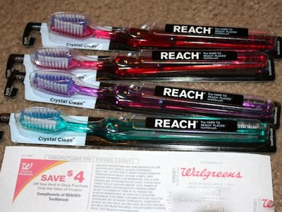 Reach Toothbrushes RR