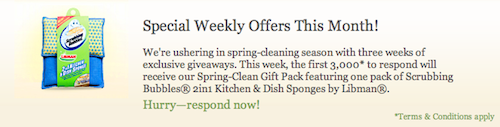 RightAtHome Spring Cleaning Giveaway