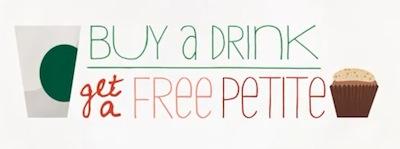 Starbucks FREE Petite