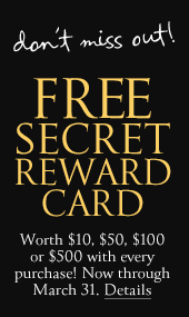VS Rewards Card