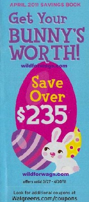 Walgreens April 2011 Coupon Book
