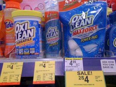 Walgreens Oxi Clean
