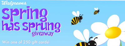 Walgreens Spring Has Sprung Giveaway