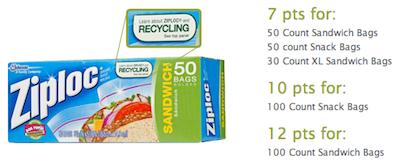 Ziploc Recyclebank