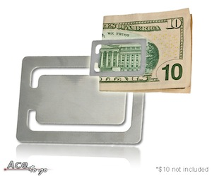 Aluminum Money Clip
