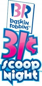 Baskin Robbins 31 Scoop Night