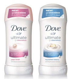 Dove Go Sleeveless FREE Sample