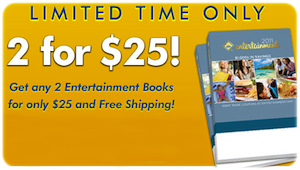 Entertainment Book 2 for 25