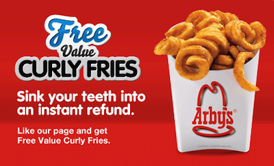FREE Curly Fries