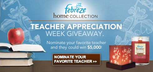 Febreze Teacher Giveaway