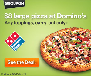 Groupon Dominos Deal