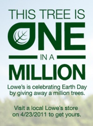 Lowes Tree Giveaway
