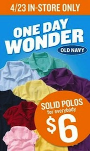 Old Navy Polo One Day Wonder