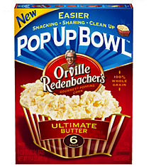 Orville Redenbacher Pop Up Bowl