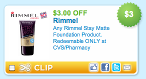 Rimmel Foundation CVS Coupon