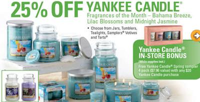 Yankee Candle Promo