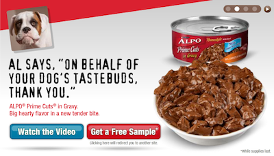 Alpo Prime Cuts Sample