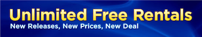 Blockbuster Unlimited FREE Rentals