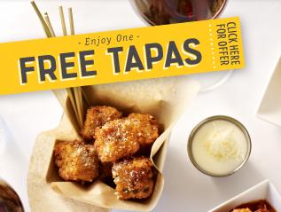 FREE Tapas