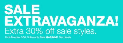Gap 30 Sale