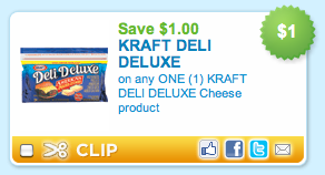 Kraft Deli Deluxe Cheese Coupon