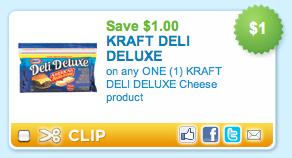 Kraft Deli Deluxe Cheese Coupon