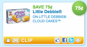 Little Debbie Cloud Cakes Coupon