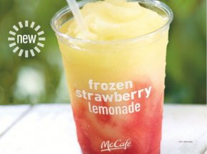 McDonalds Strawberry Lemonade