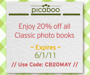Picaboo 20 off Photo Books