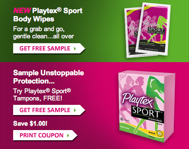 Playtex Samples